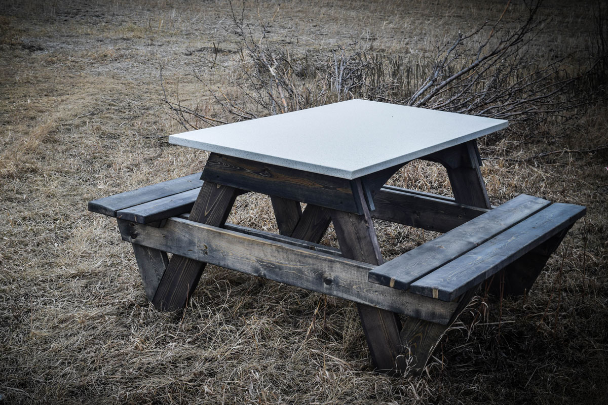 CP Wood Gallery Country Pine Furniture Calgary Furniture CP - Spruce picnic table
